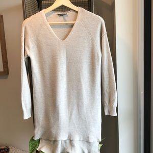 Wool Eileen Fisher V Neck Sweater